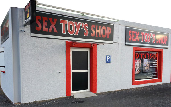 facade sextoys shop Narbonne